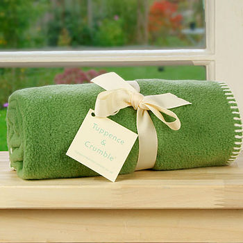 Fern Fleece Buggy Blanket
