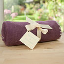 Heather Fleece Buggy Blanket