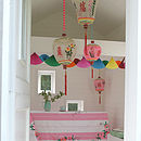 Paper Fan Garland Four Metres