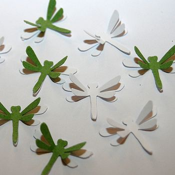 3D Dragonfly Table Confetti