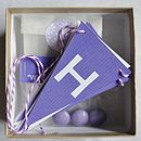 Purple Personalised Birthday Box