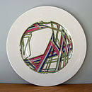 Ribbons Sandwich Plate