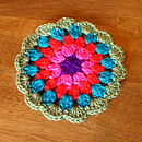 Crocheted Vintage Style Coaster