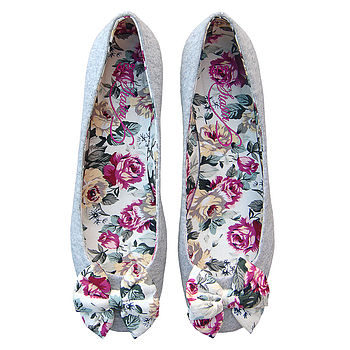 Rose Burst Ballerina Shoes *RRP £45*
