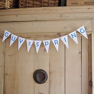 Personalised Name Bunting - children's room accessories