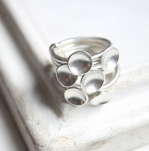 Six Cup Stack Ring - rings