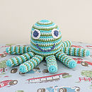 Crochet Baby Rattle- Seven Designs