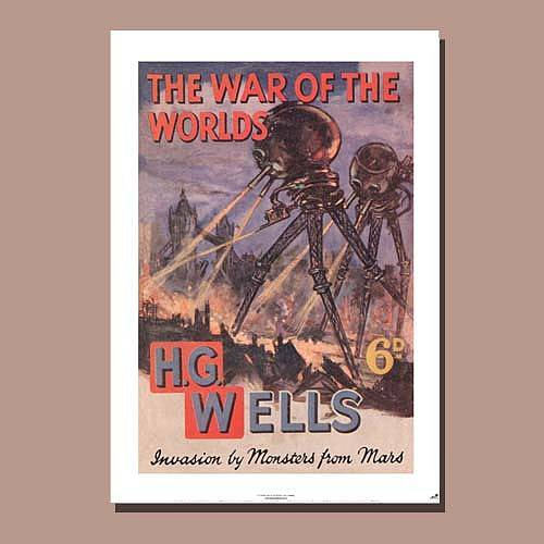 'The War Of The Worlds' Poster