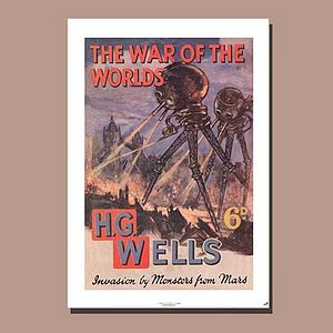 'The War Of The Worlds' Poster - posters & prints