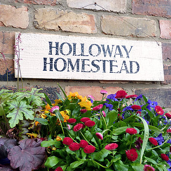 Personalised House Sign