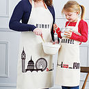 Personalised London Children's Apron