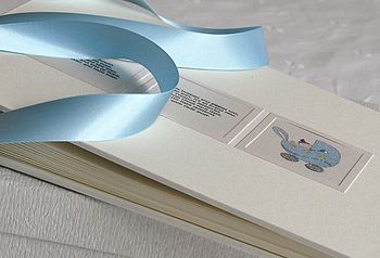 Personalised Baby Photo Album And Keepsake