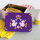 Vintage Retro Inspired Storage Tin