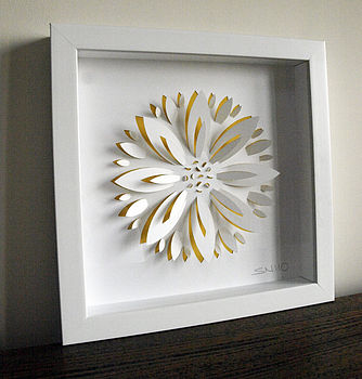Sunflower Hand Crafted Wall Art
