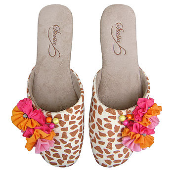 Spring Blush Mule Slippers RRP £29.99