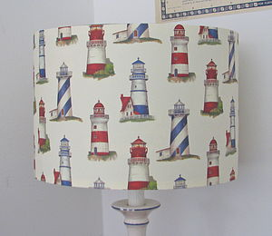 Lighthouse Lampshade - lamp bases & shades
