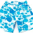 Boy's Blue Haze Swim Shorts
