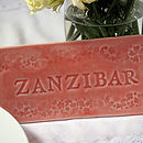 Personalised Wedding Table Tile
