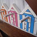 beach hut pegs_pumkpin / candy pink/ bright blue