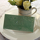 'Bali' Personalised Table Tiles