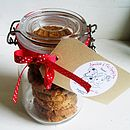 Jar Of 'Proud To Be Ginger Nut' Biscuits