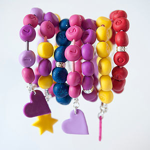 Personalised Girls Child Safety Jewellery - children's jewellery