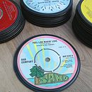 Vinyl Record Fridge Magnet - 45's