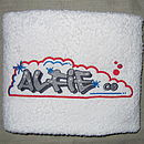 Personalised Graffiti Kids Towel