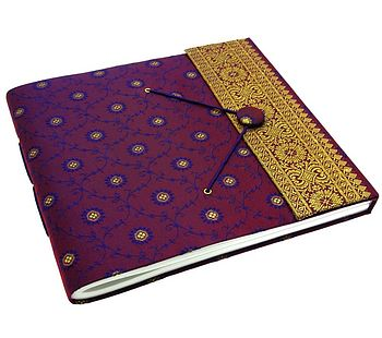 Fair Trade Large Sari Photo Album