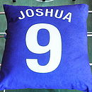 Personalised Football Cushion