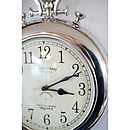 Pocket Watch Silver Wall Clock