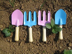 Childrens, Trowel And Fork Set