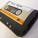 Orange Mix Tape Cassette Phone Case