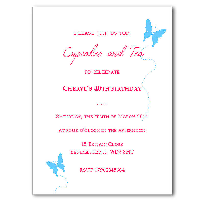 Doc550540 Sample Invitation Card for an Event Samples of – Sample Party Invitation Card