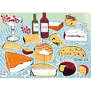 Alice Tait 'Cheeseboard' Print