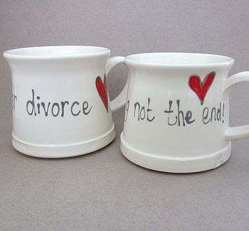 Handmade Divorce Mug