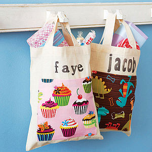 Personalised Child's Mini Cotton Shopper - party bags and ideas