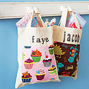 Personalised Child's Mini Cotton Shopper
