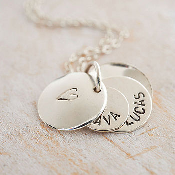 Personalised Secret Message Locket in 925 Sterling Silver with a black finish