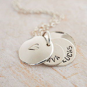 Personalised Secret Message Necklace - anniversary gifts