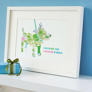 Personalised Puppy Dog Print