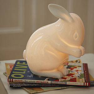 Rabbit Lamp - view all easter