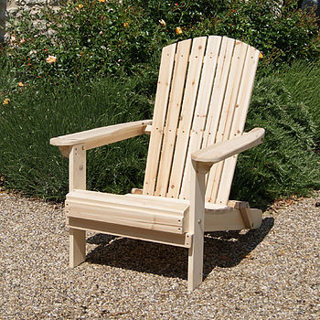 Adirondack Folding Wooden Chair