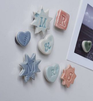 'Mr & Mrs' Magnets