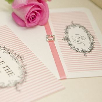 'Venice' Personalised Wedding Invitations