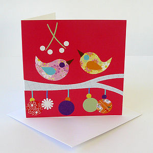 Christmas Kiss Greetings Card