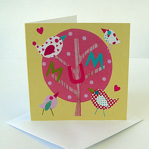 Yummy Mummy Greetings Card