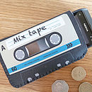 Blue Mix Tape Cassette Phone Case