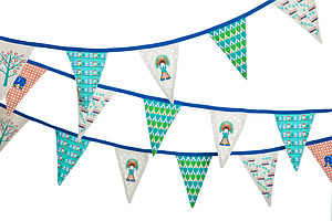 Bunting 'Chief' - children's parties