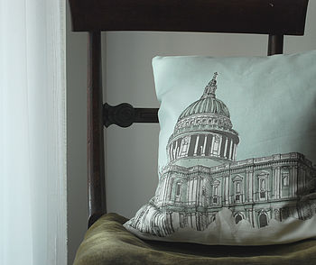 St Pauls Cathedral Cushion